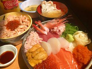 ④ポセイ丼&お子様セット.JPG